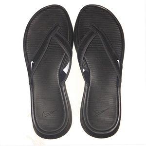 Women's Black Nike Flip-flop Sandals New!